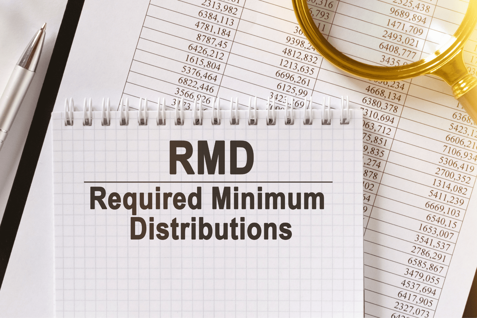 RMD's Taxes Financial Planning Required Minimum Distributions
